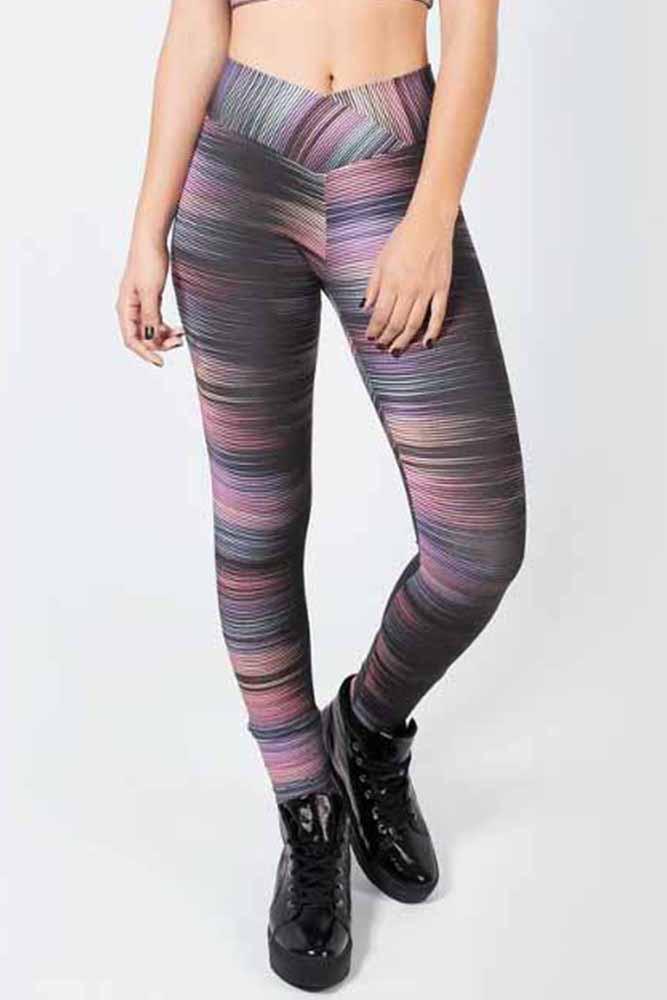 Legging Fitness Basic Stripes