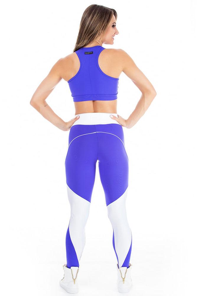 Legging Fitness Sky Purple
