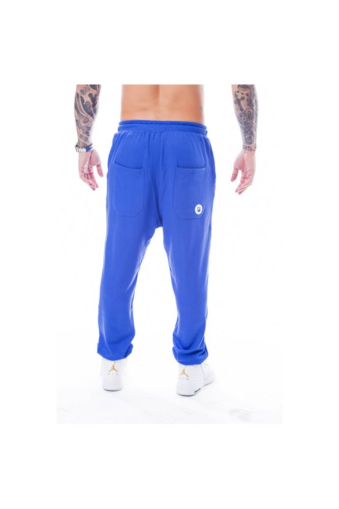 Calça De Moletom Blast Fit Star Azul costas