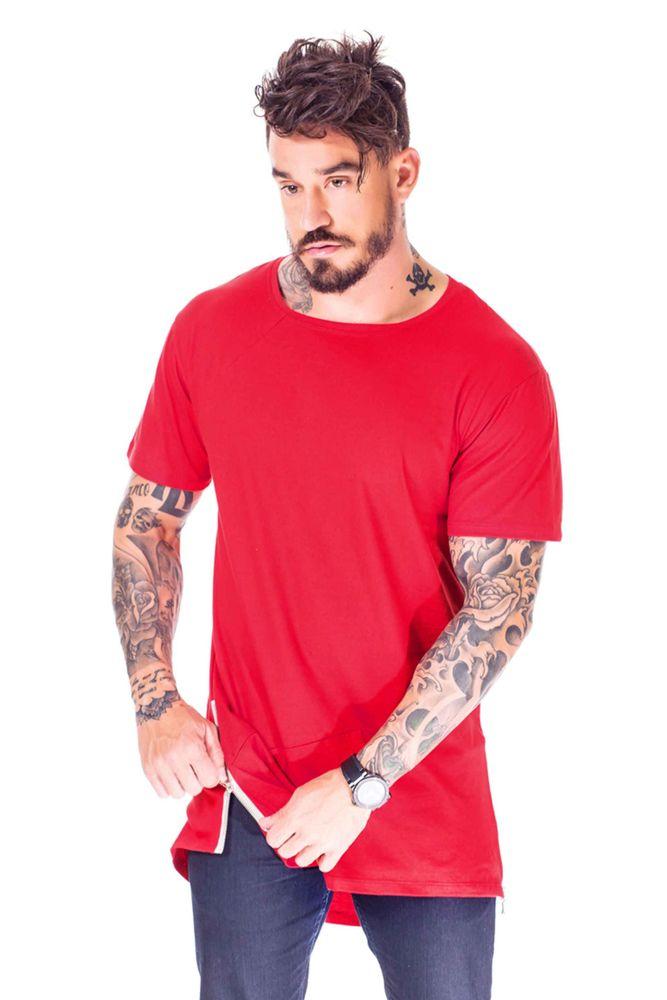 430eaa005b Compre Camiseta Long Style Cinza Online - BlastFit