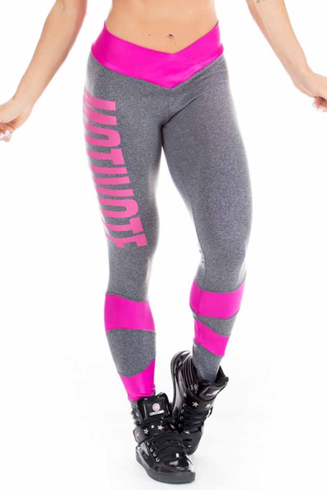 Legging Fitness Motivate Mescla