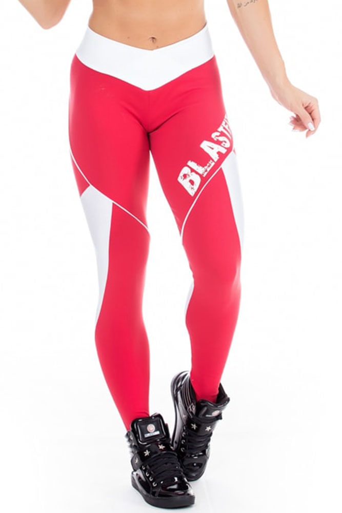 Legging Fitness Sky Red