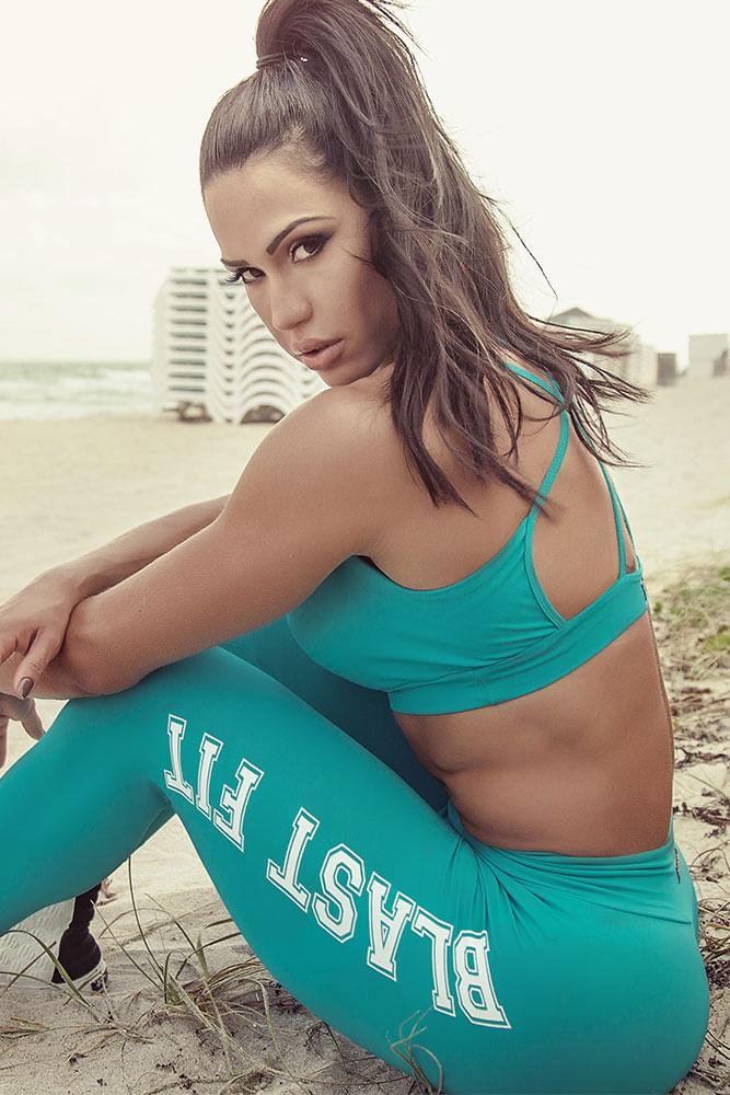 Legging Verde This Is My Time