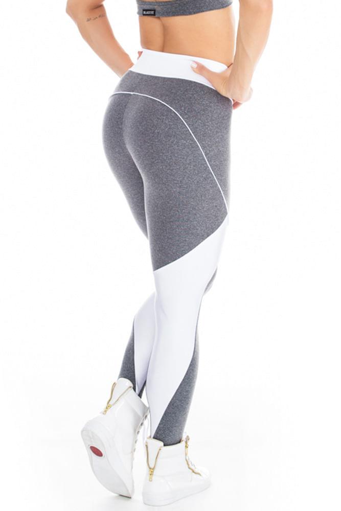 Legging Fitness Sky Mescla costas