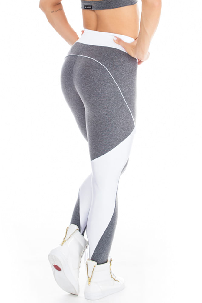 Legging Fitness Sky Mescla costas
