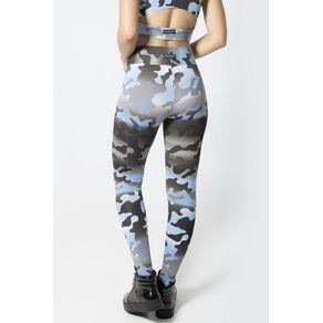 Legging Fitness Camuflado Azul costas