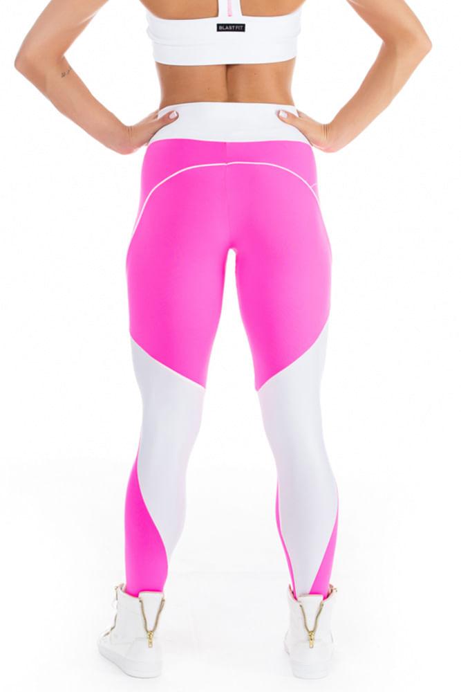 Legging Fitness Sky Pink costas