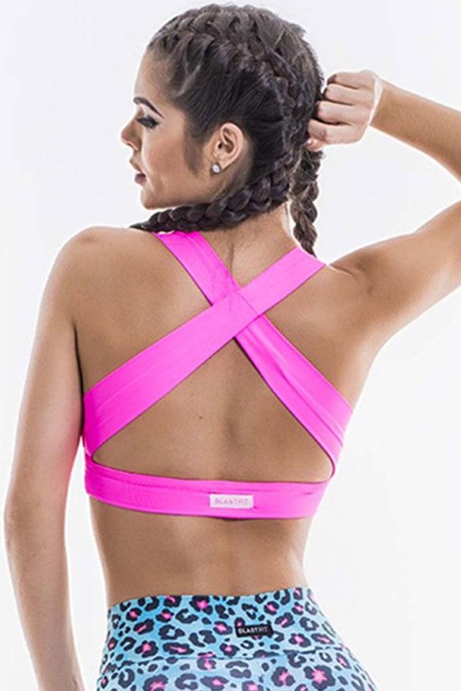 Top Fitness Com Bojo Pink