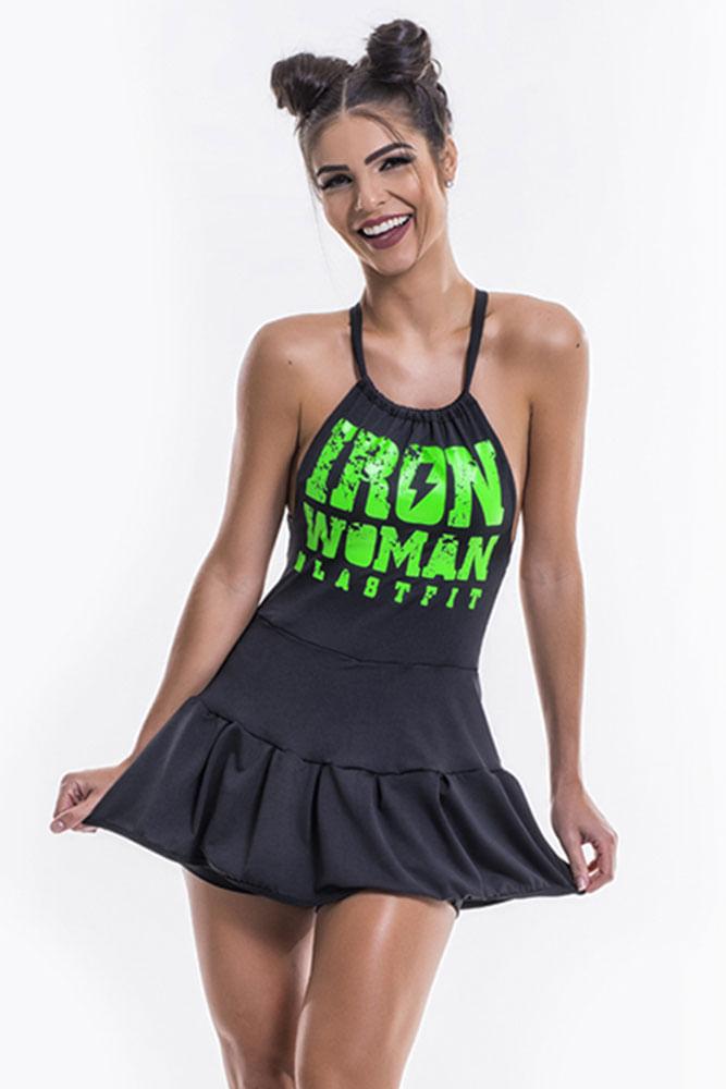 Vestido De Malhar Iron Woman