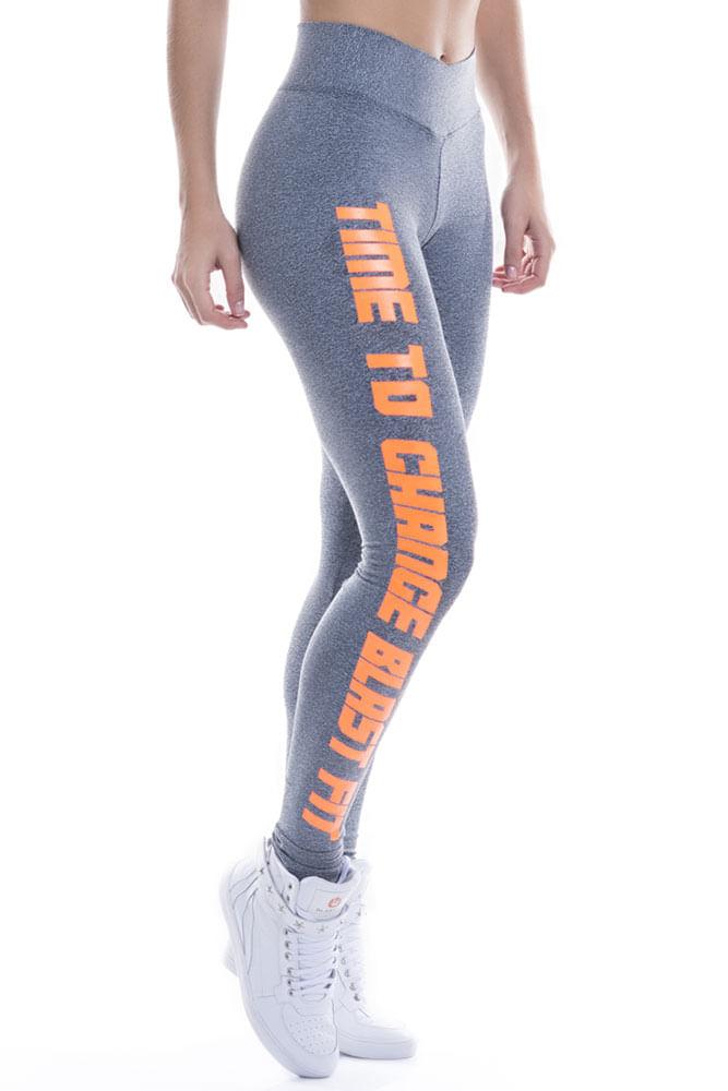 Legging Fitness Mescla Time To Change