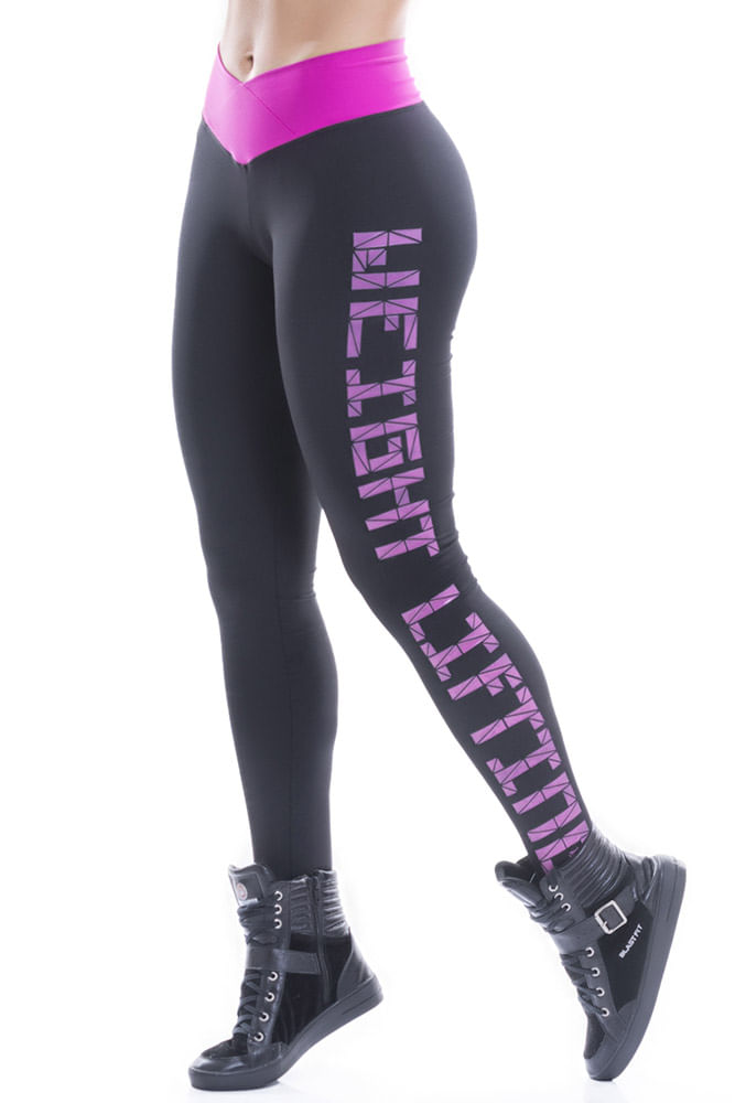 Legging Fitness Preta Weight Blast Fit