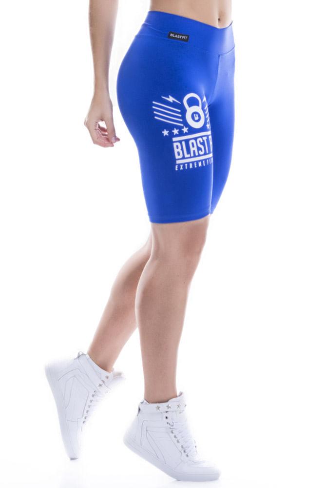 Bermuda Fitness Blast Fit Azul