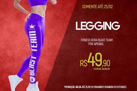 Legging roxa