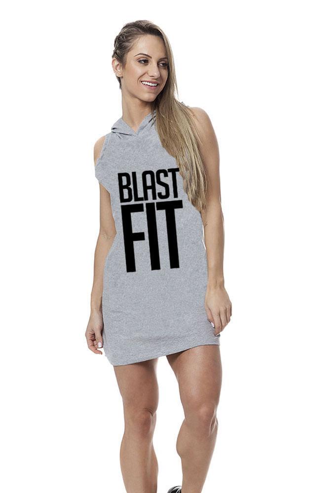 Vestido Cinza Blast Fit