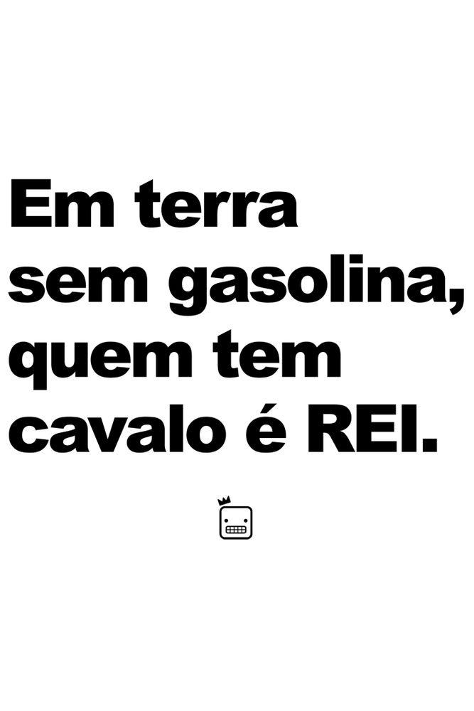 Camiseta-Em-Terra-Sem-Gasolina-Quem-Tem-Cavalo-E-Rei---masculina-estampa