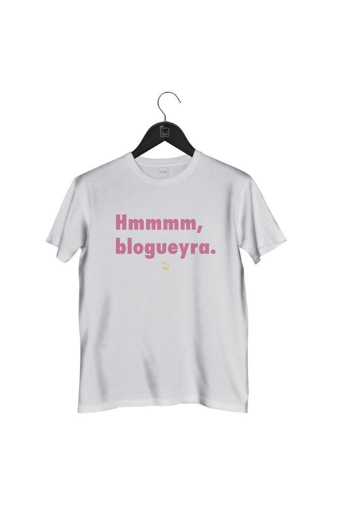 Camiseta-Hmmm-Blogueyra---masculina-branca