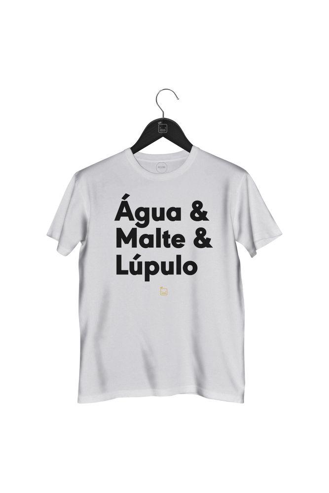 Camiseta-Agua-_-Malte-_-Lupulo---masculina-branca
