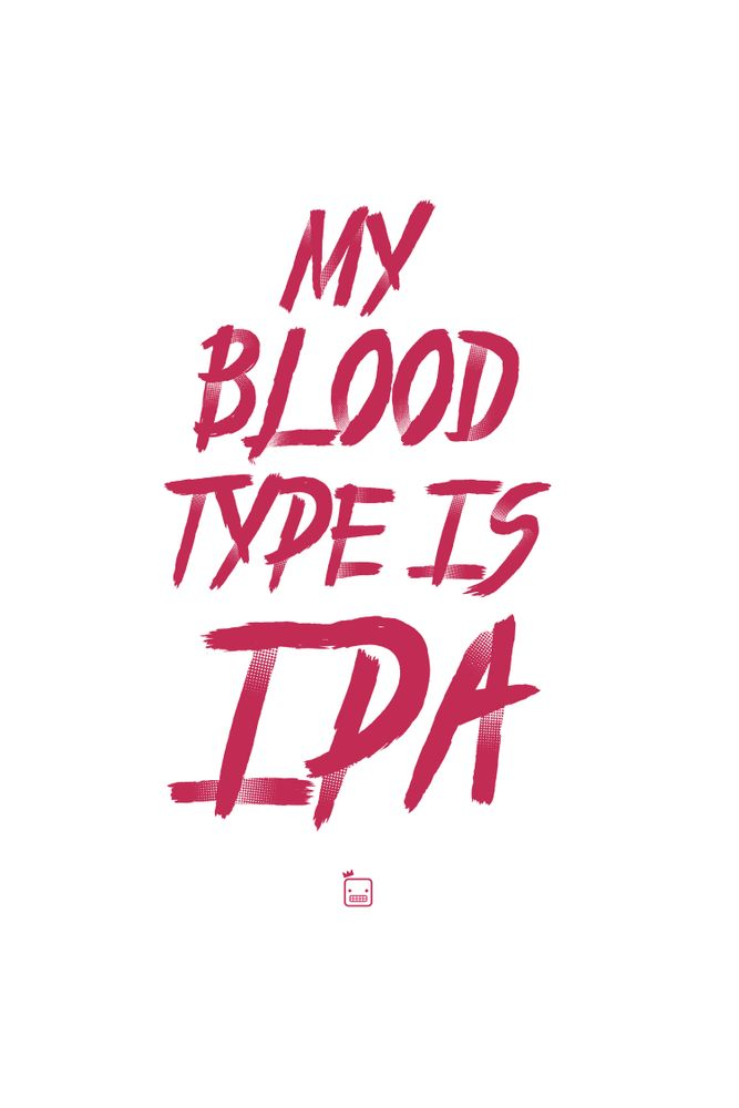 Camiseta-My-Blood-Type-Is-Ipa---masculina-estampa