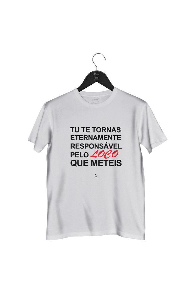 Camiseta-Tu-Te-Tornas-Eternamente-Responsavel---masculina-branca