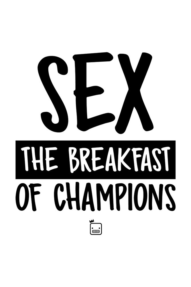 Camiseta-Sex-The-BreakFast-Of-Champions-masculina-estampa