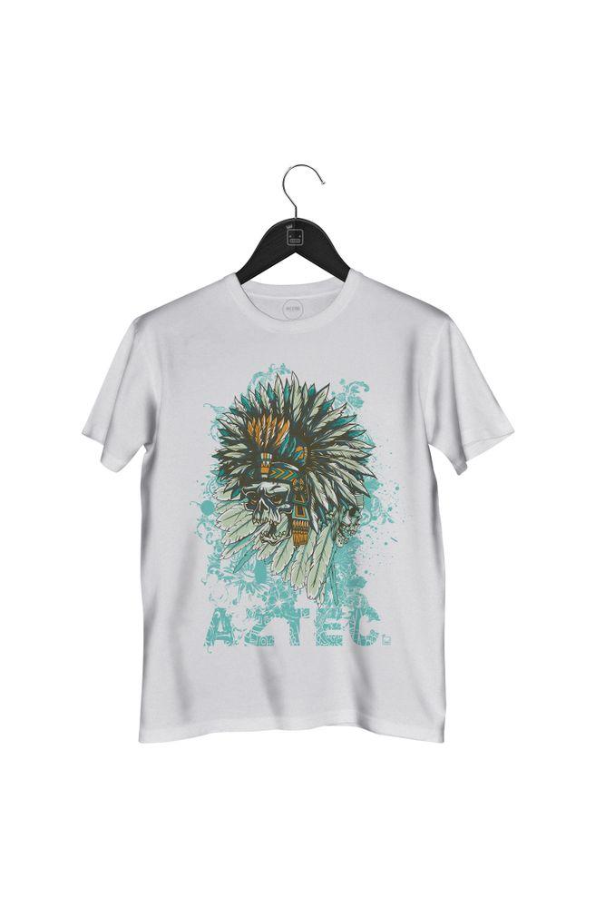 Camiseta-Aztec-masculina-branca