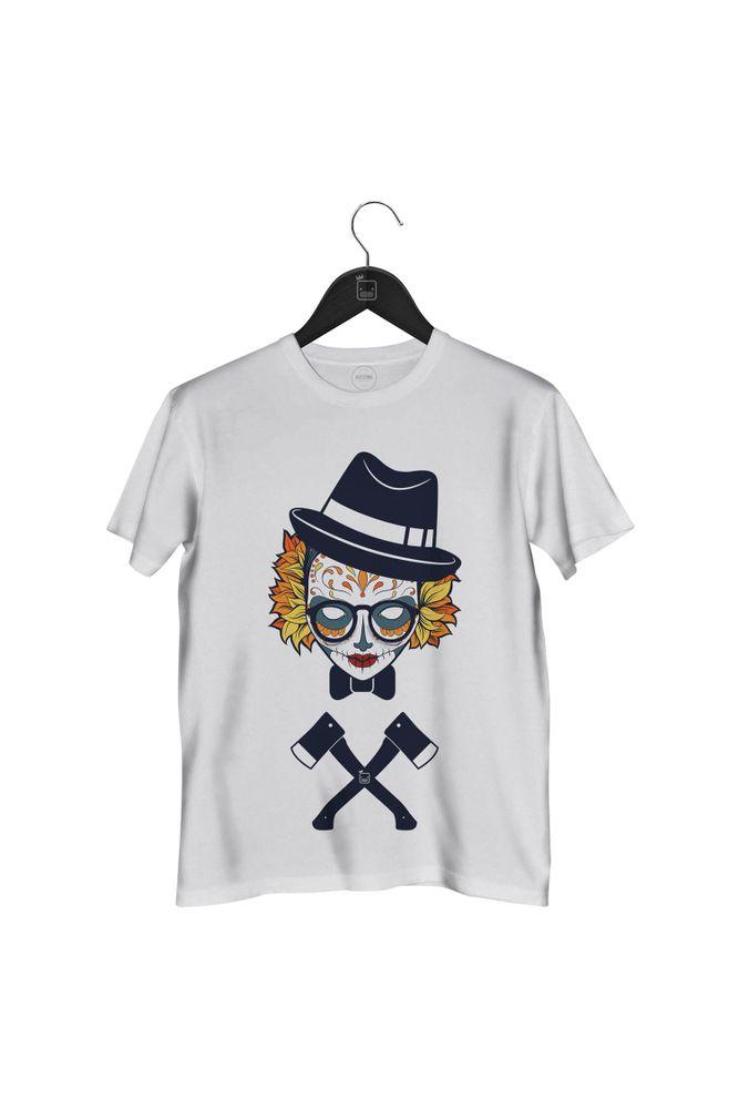 Camiseta-Caveira-Jual-Kaos-Hipster-masculina-branca