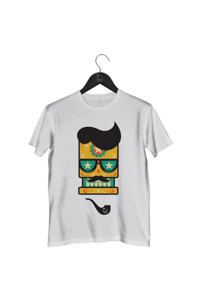 Camiseta-Caveira-Cachimbo-masculina-branca