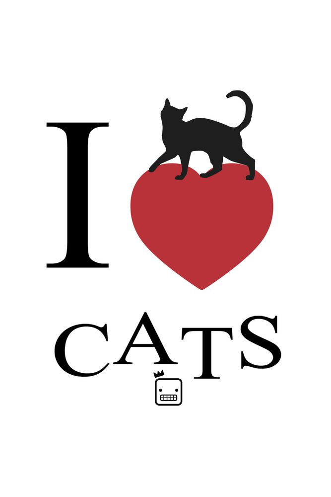Camiseta-I-Love-Cats-masculina-estampa
