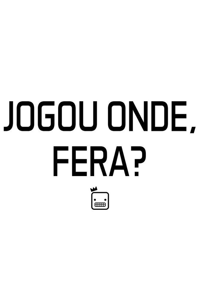 Camiseta-Jogou-Onde-Fera-masculina-estampa