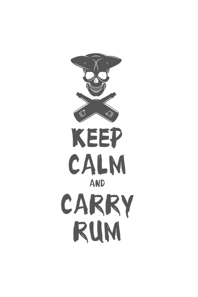 Camiseta-Keep-Calm-And-Carry-Rum-masculina-estampa
