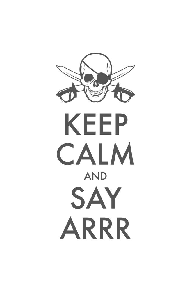 Camiseta-Keep-Calm-And-Say-Arrr-masculina-estampa