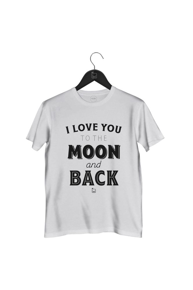 Camiseta-I-Love-You-To-The-Moon-And-Back-masculina-branca
