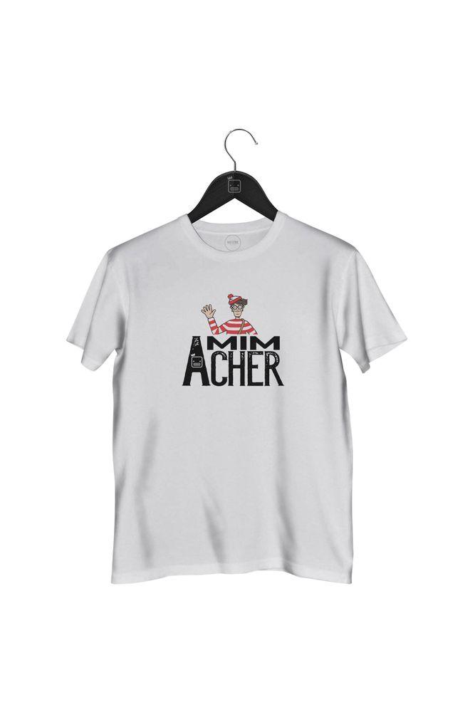 Camiseta-Mim-Acher-masculina-branca