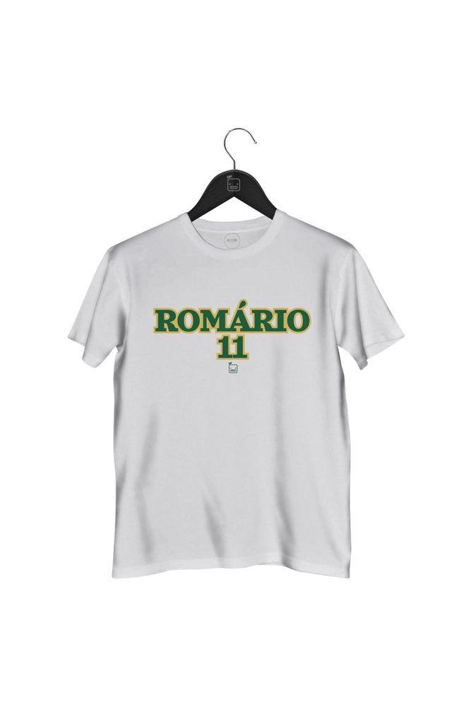 Camiseta-Romario-11-masculina-branca