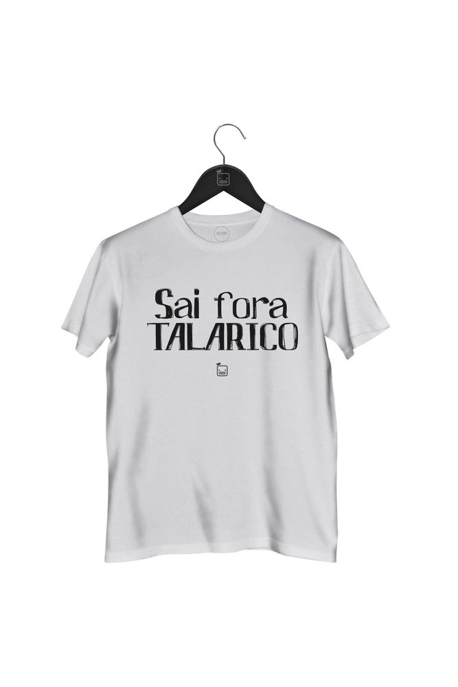 Camiseta-Sai-Fora-Talarico-masculina-branca