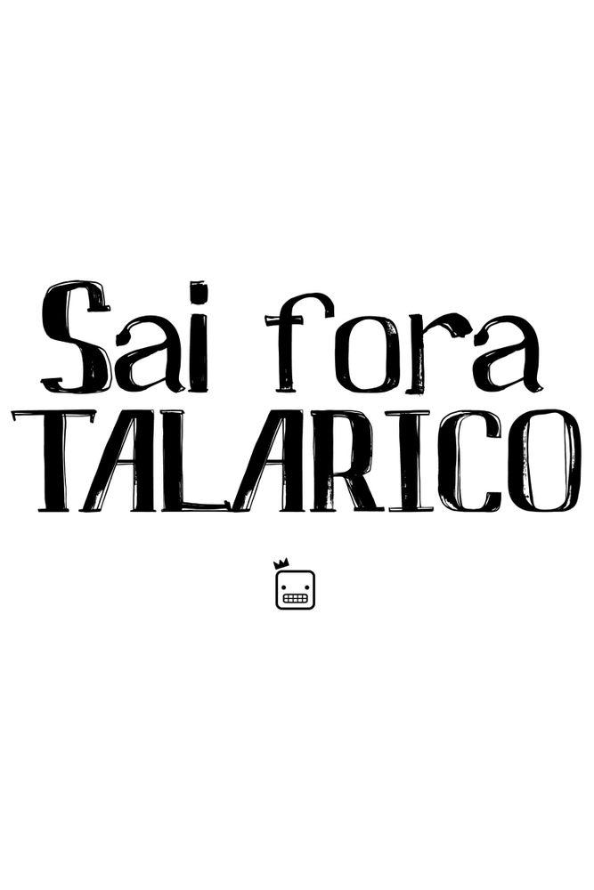 Camiseta-Sai-Fora-Talarico-masculina-estampa