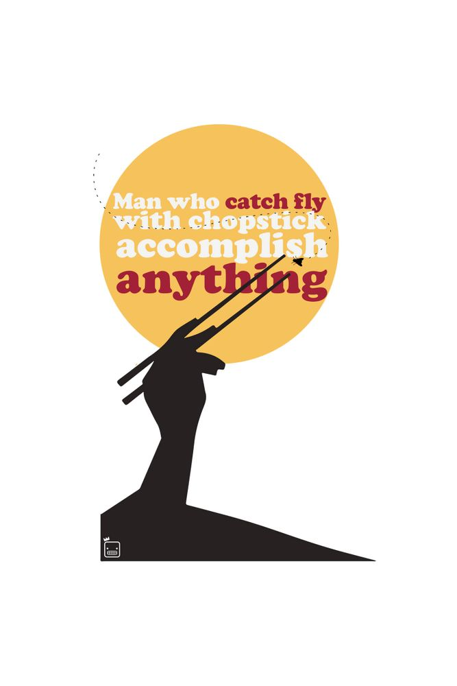 Camiseta-Man-Who-Catch-Fly-With-Chopstick-Can-Accomplish-Anything-masculina-estampa
