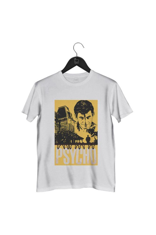 Camiseta-Psycho-masculina-branca