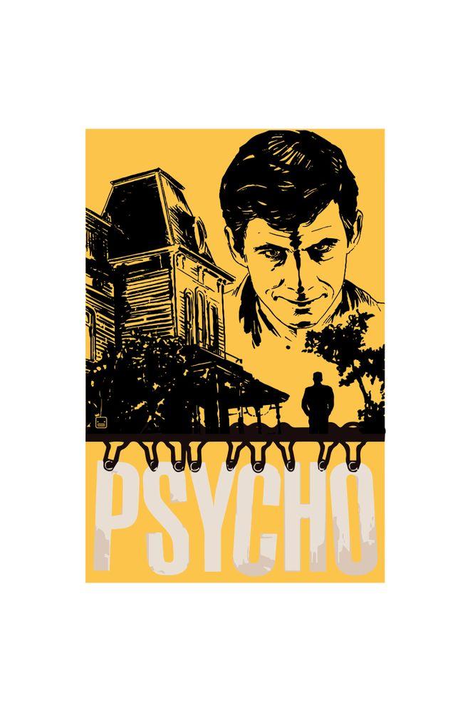 Camiseta-Psycho-masculina-estampa