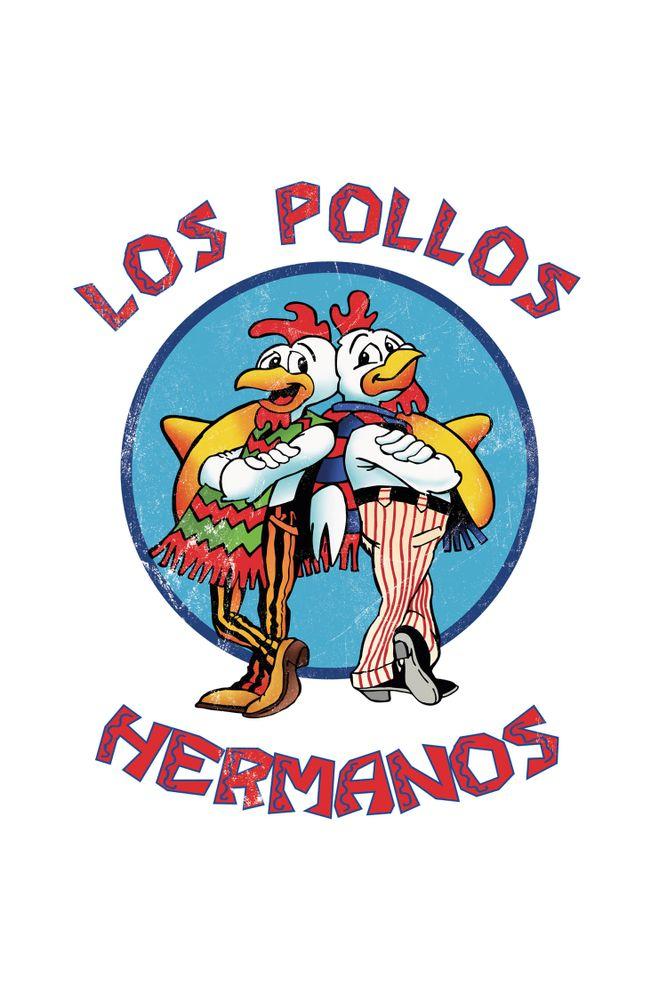 Camiseta-Los-Pollos-Hermanos-masculina-estampa