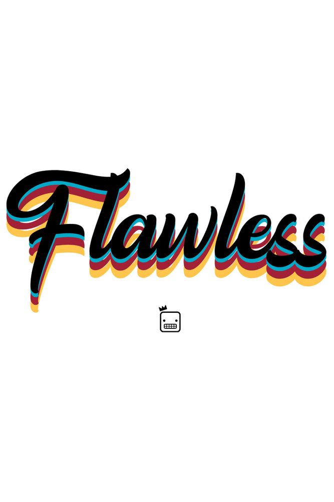 Camiseta-Flawless-masculina-estampa