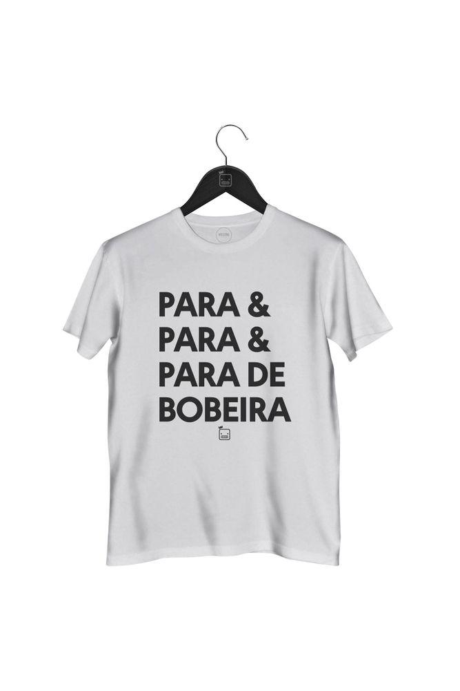 Camiseta-Para-_-Para-_-Para-De-Bobeira-masculina-branca