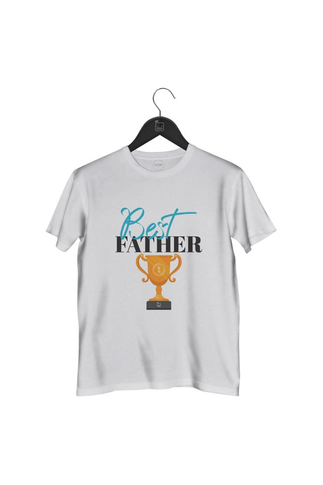 Camiseta-Best-Father-masculina-branca