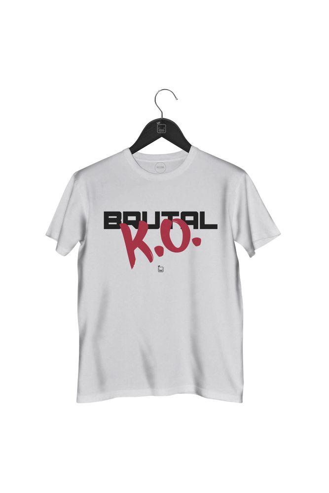 Camiseta-Brutal-K.O-masculina-branca