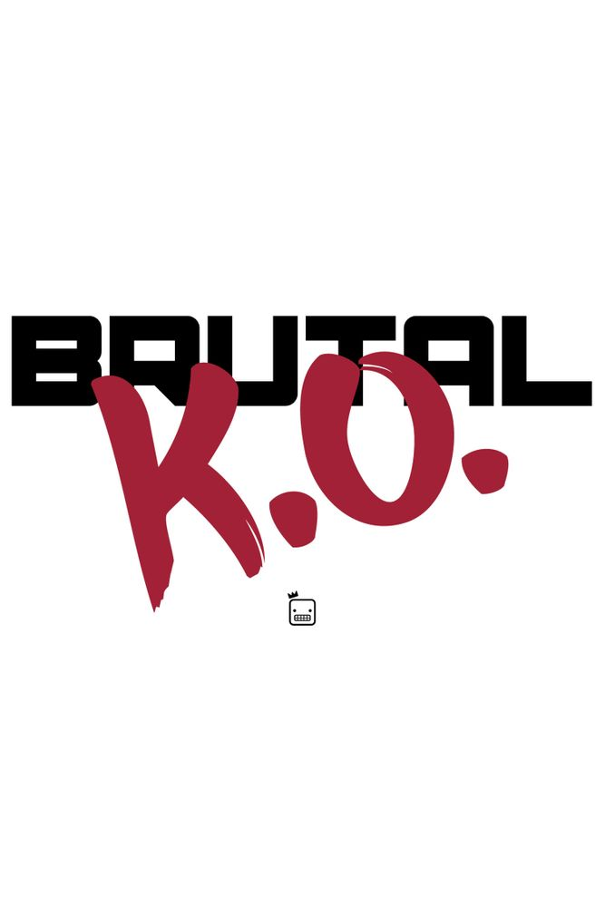 Camiseta-Brutal-K.O-masculina-estampa