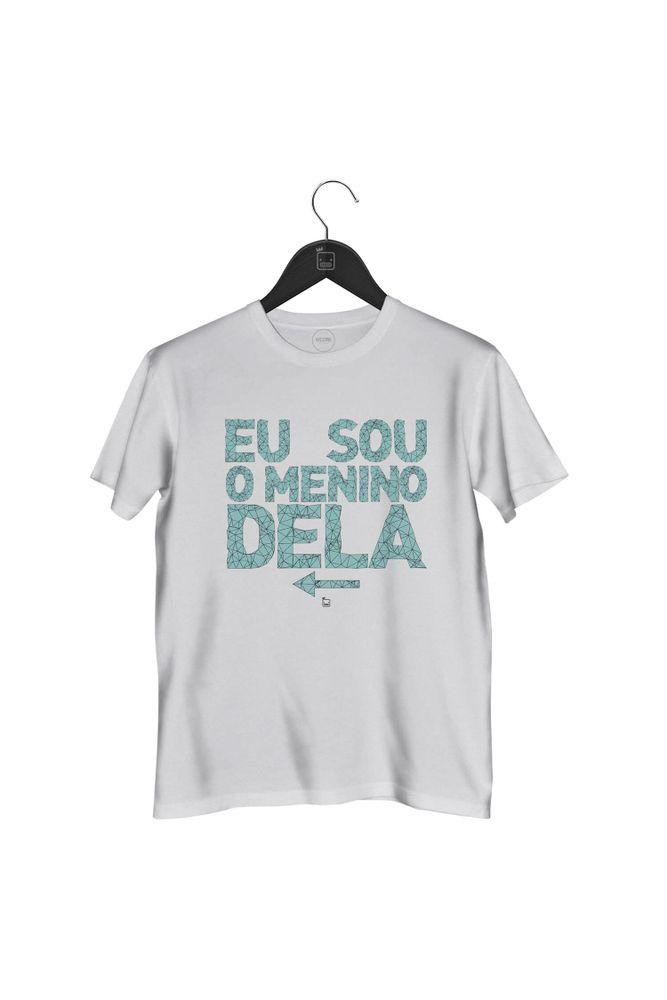 Camiseta-Eu-Sou-O-Menino-Dela-masculina-branca