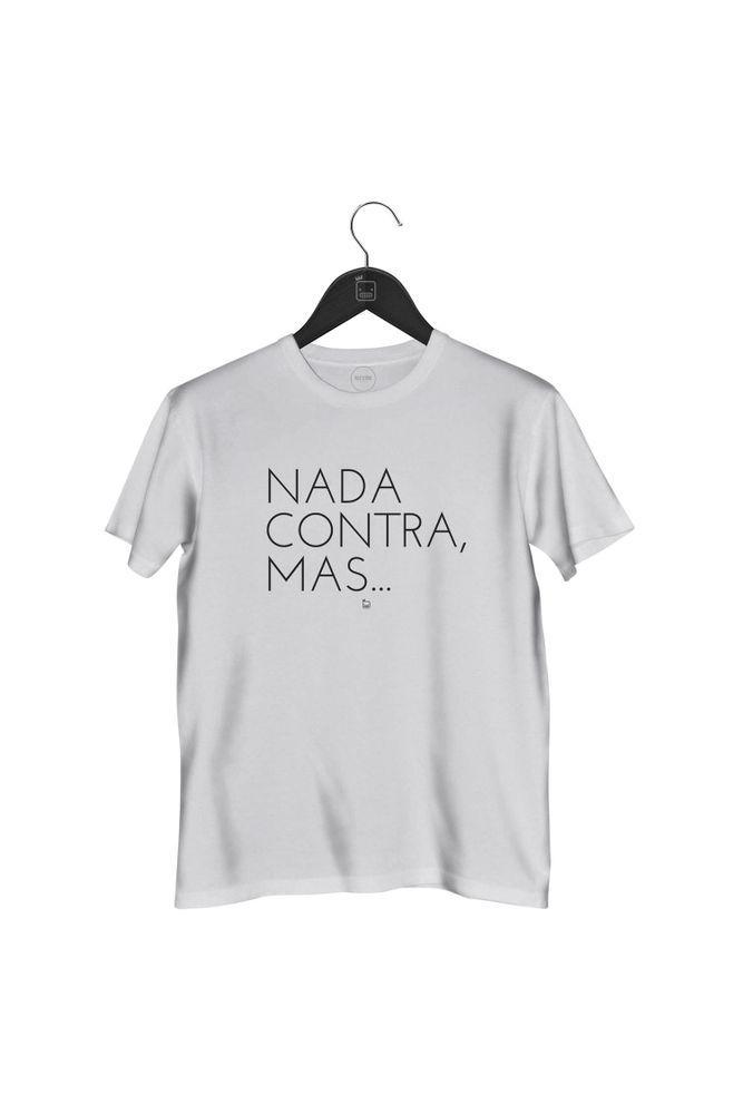 Camiseta-Nada-Contra-Mas-masculina-branca