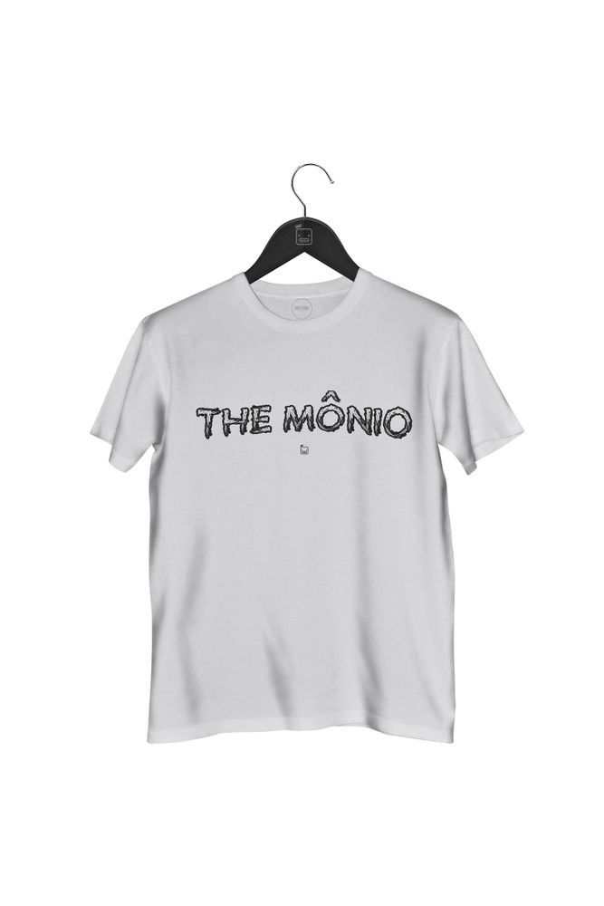 Camiseta-The-Monio-masculina-branca