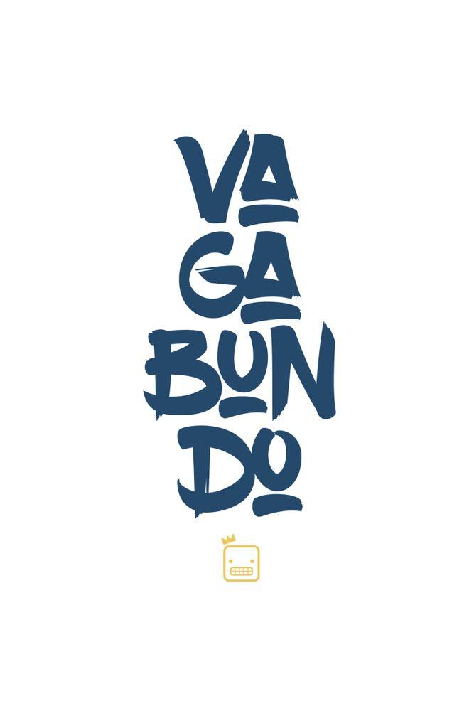 Camiseta-Vagabundo-masculina-estampa