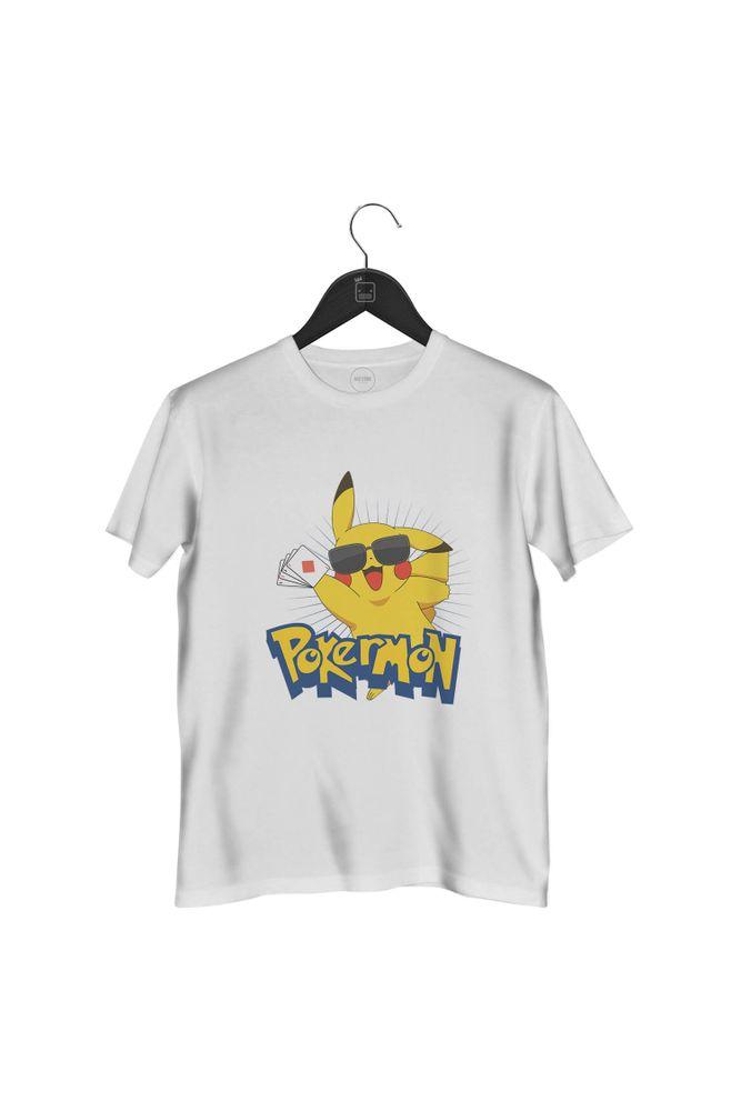 camiseta-pokermon-masculina-branca